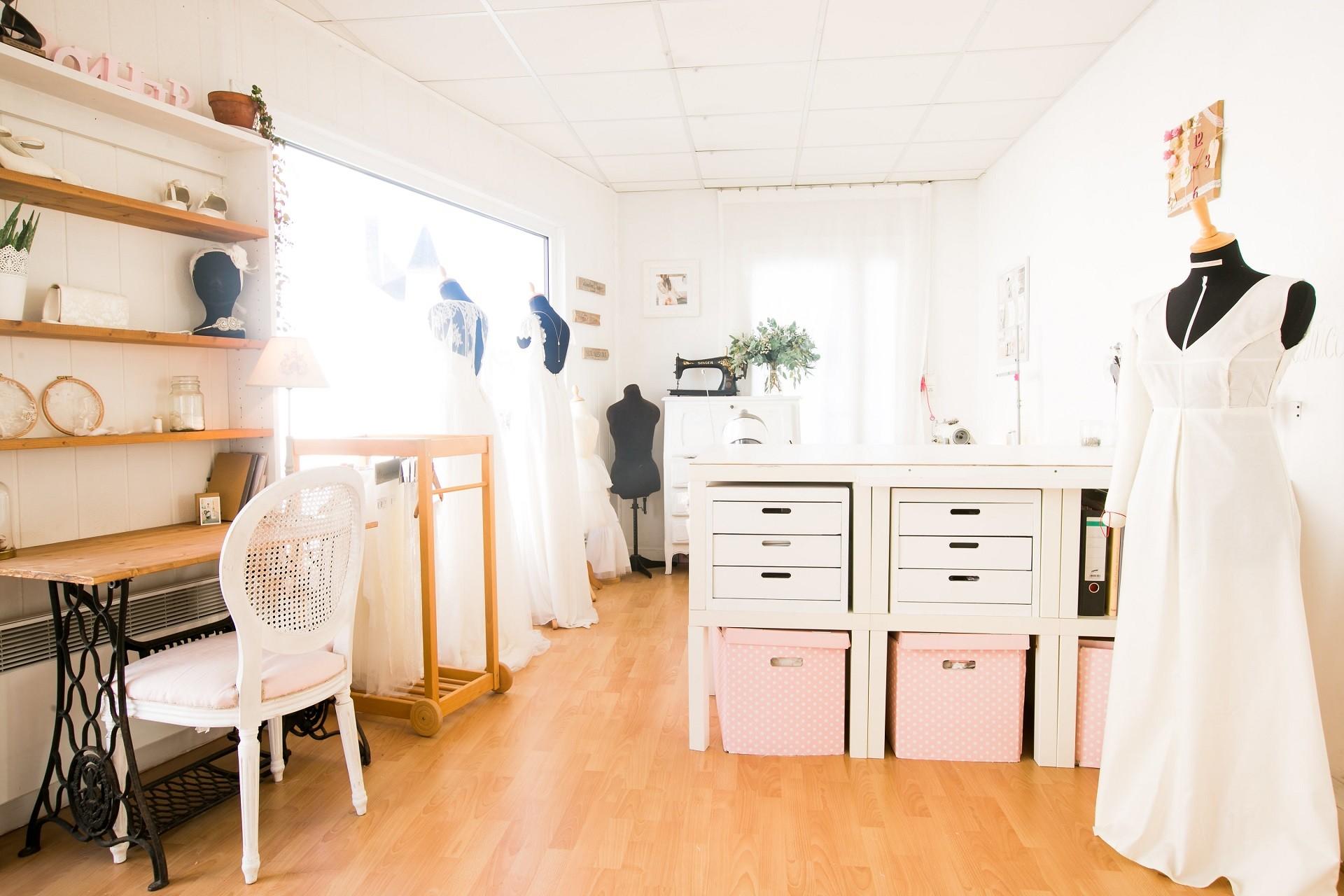 boutique de robe de mariée sur mesure en Nantes et Angers