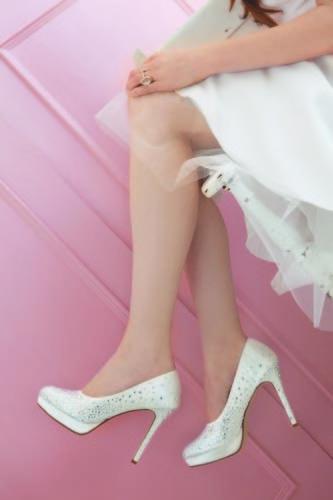 chaussures mariée strass