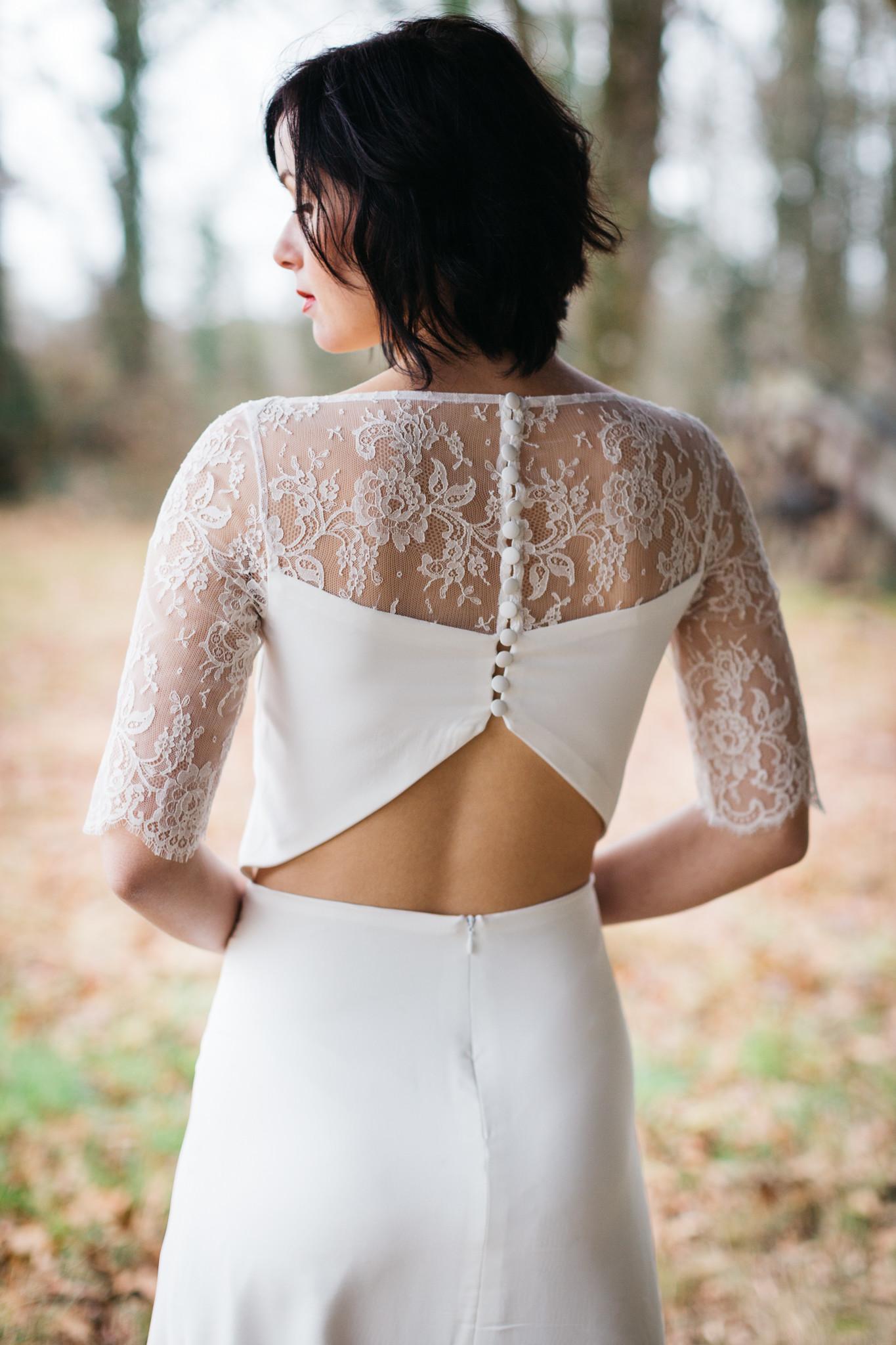 robe de mariée près de blain