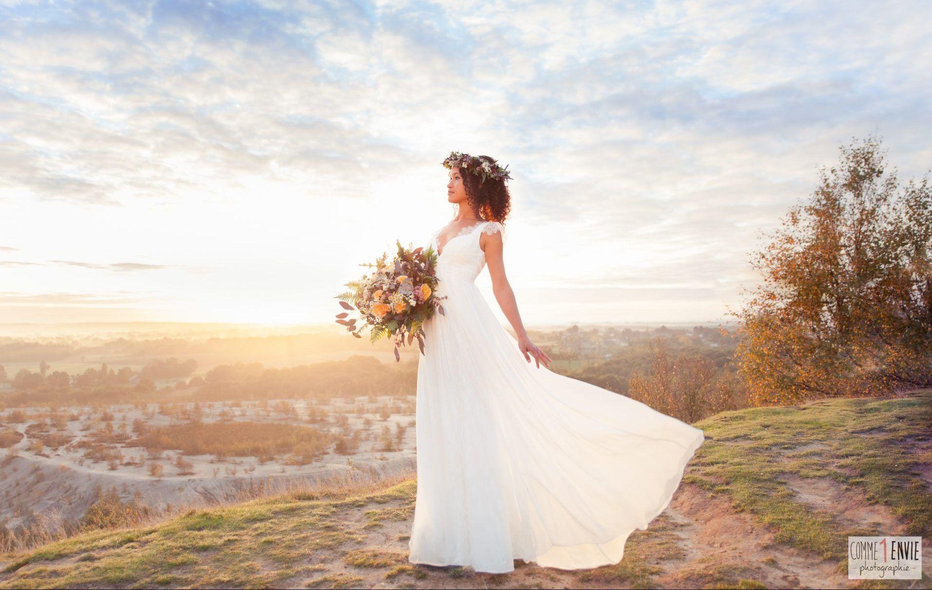 montage robe mariée
