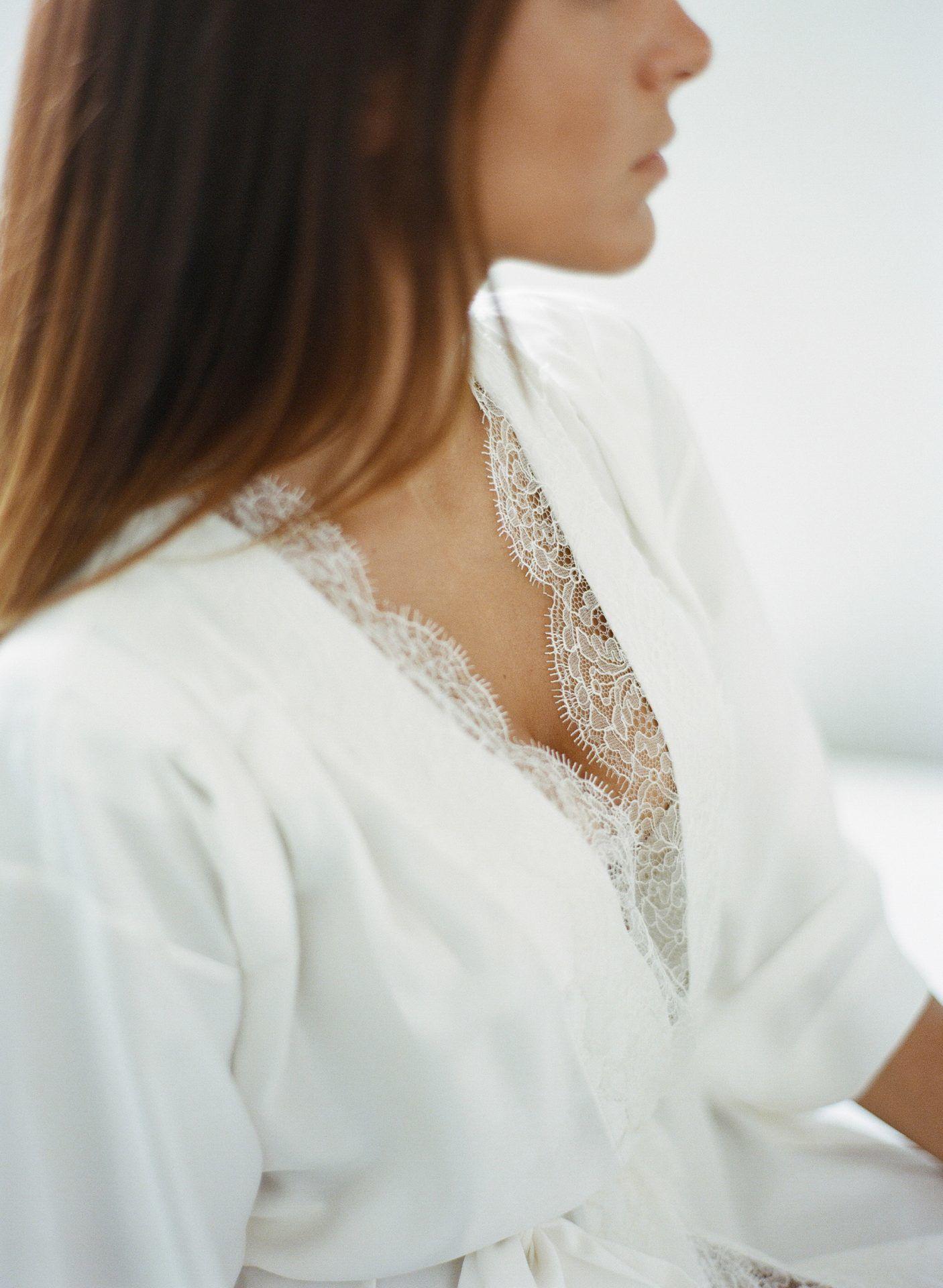 Eline kimono en soie