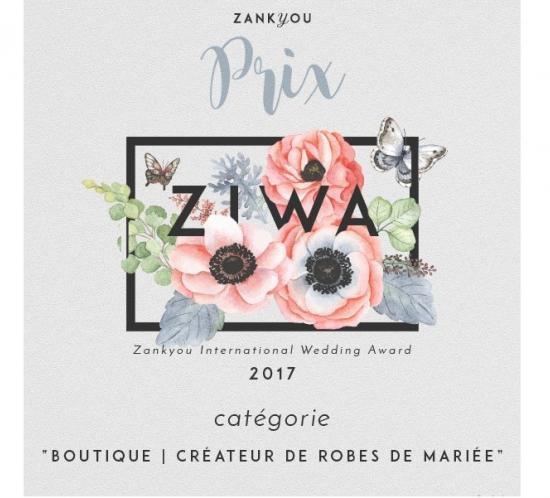 ziwa2017-premio robes de mariee