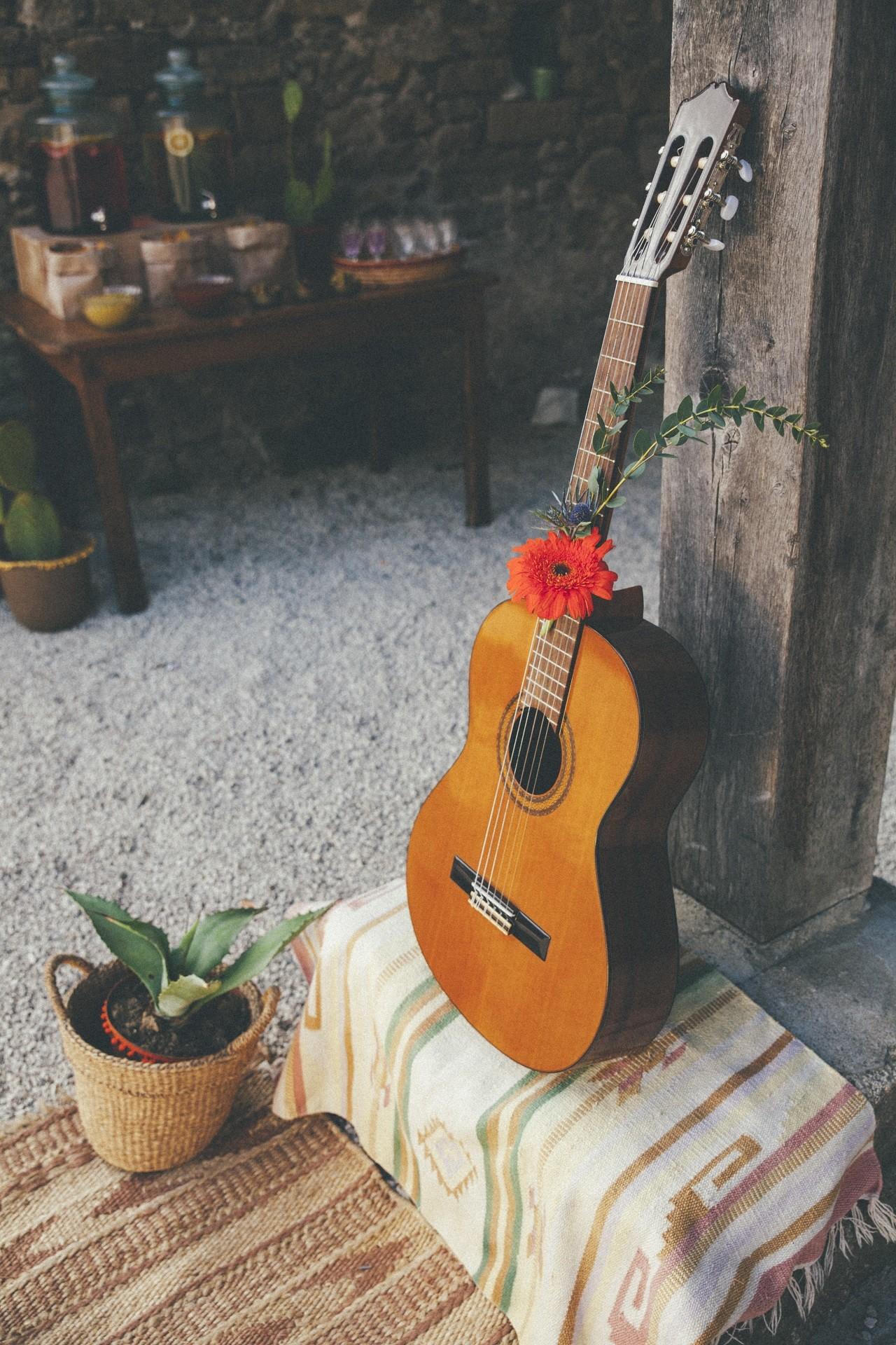 mariage inspiration mexicain vin d'honneur