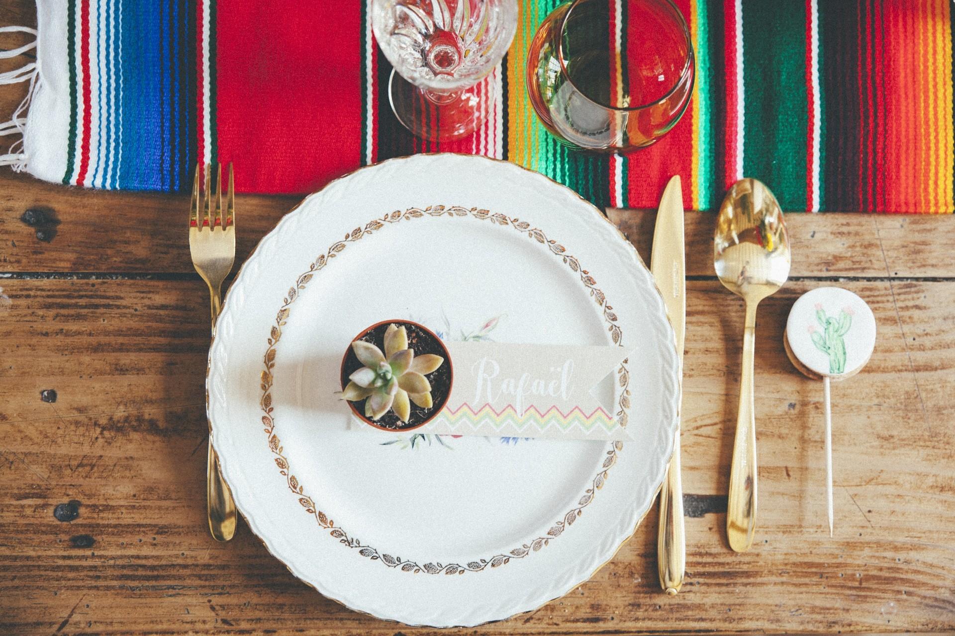 art de la table mariage vaisselle vintage