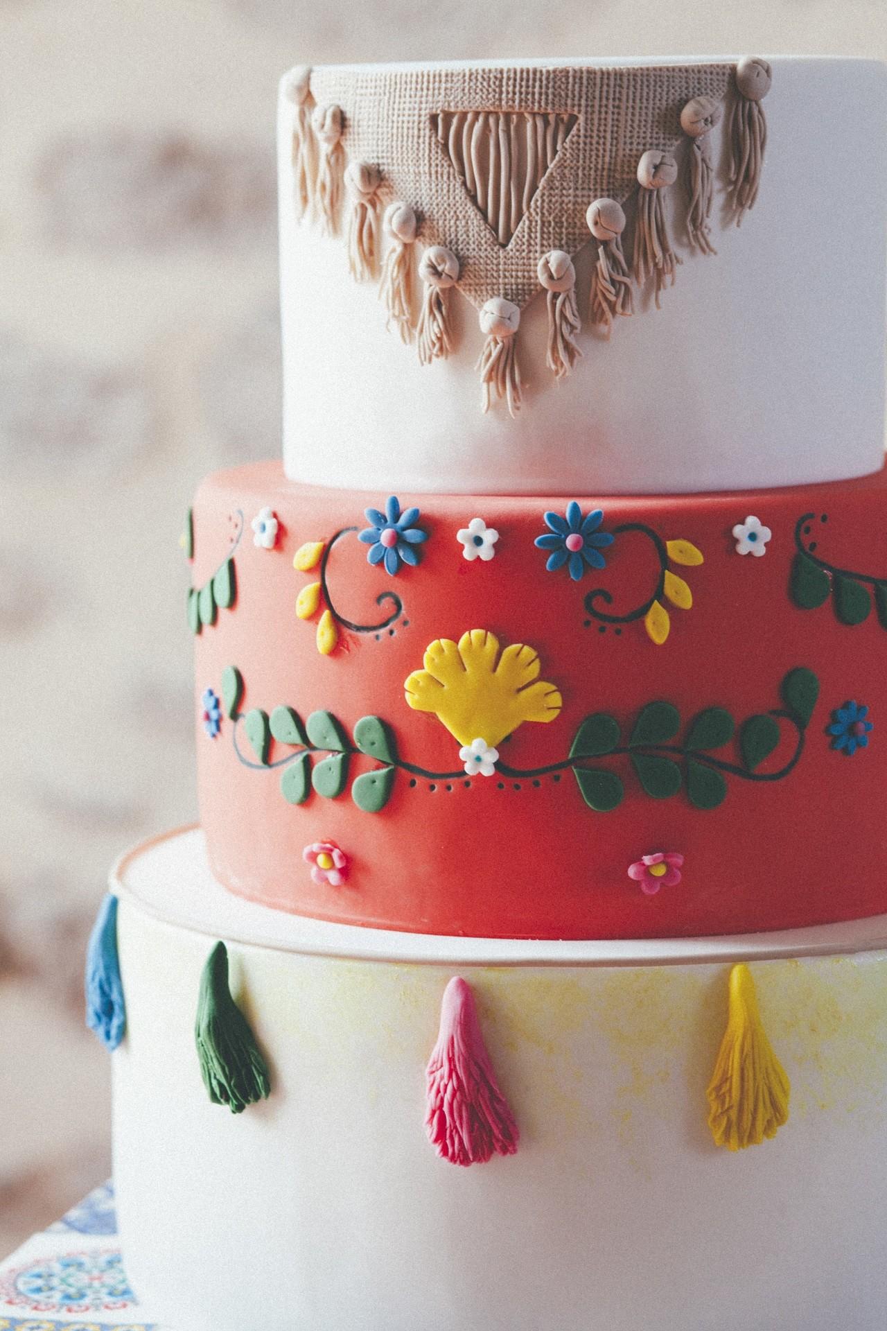 gateau mariage theme mexicain
