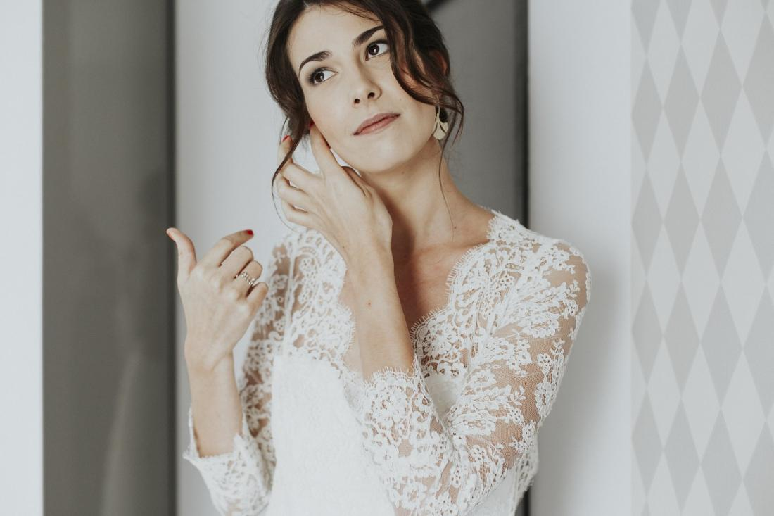 Cecile nous explique pourquoi elle a choisi la créatrice nantaise Laetitia Drouet pour la création de sa robe de mariée