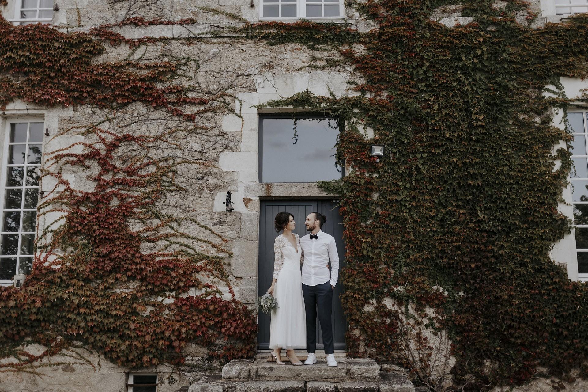 Un mariage au chateau de la garnison pres de nantes phtographié par flavie nelly
