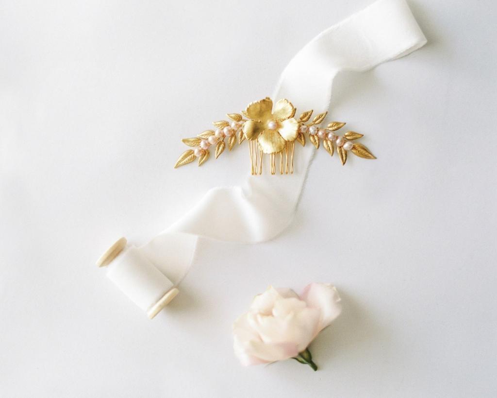 peigne pour voile de mariée l'atelier de sylvie