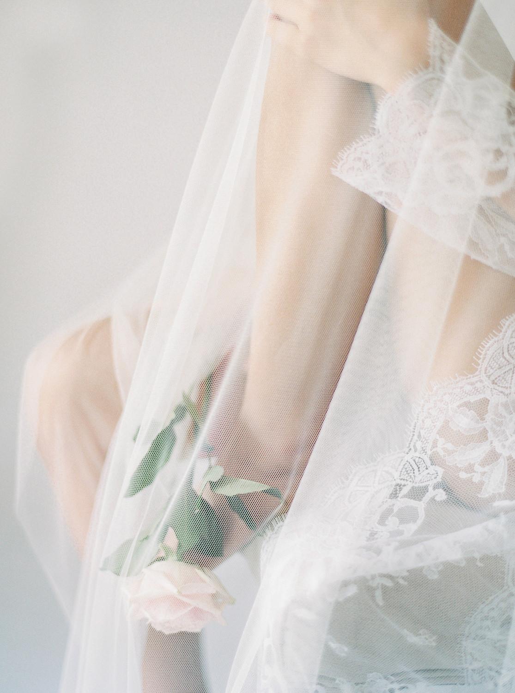 voile de mariée photo argentique