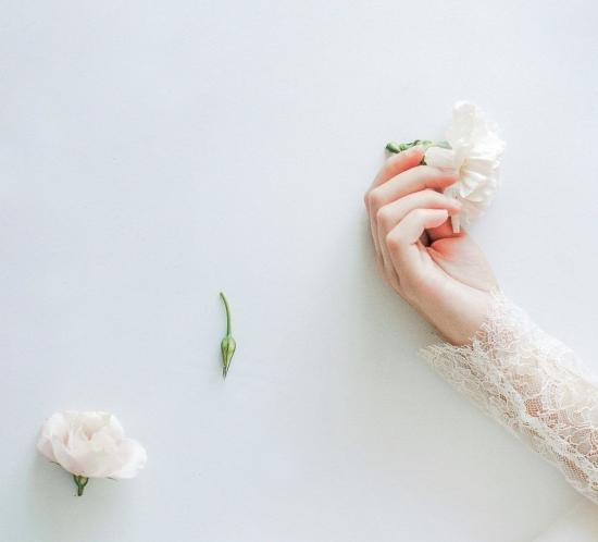photo préparation mariée argentique inspiration poétique