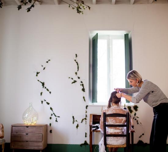 photos de préparation de la mariée le jour du mariage