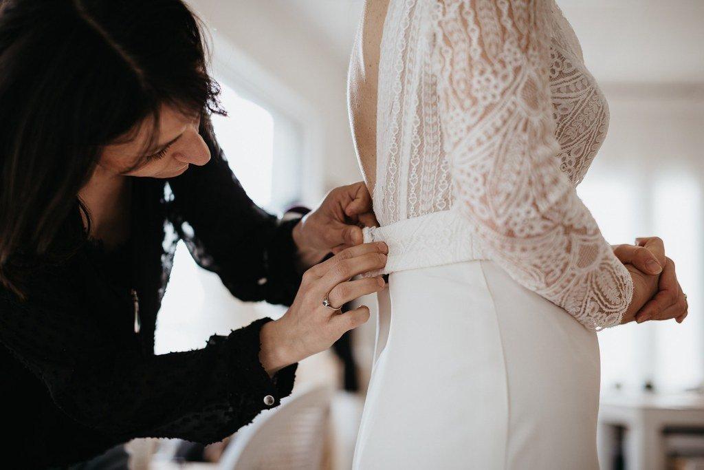 faire appel à une créatrice pour sa robe de mariée