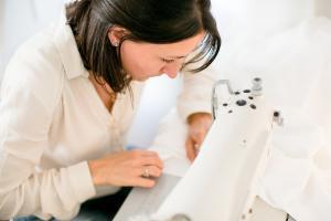 fabriquer une robe de mariée