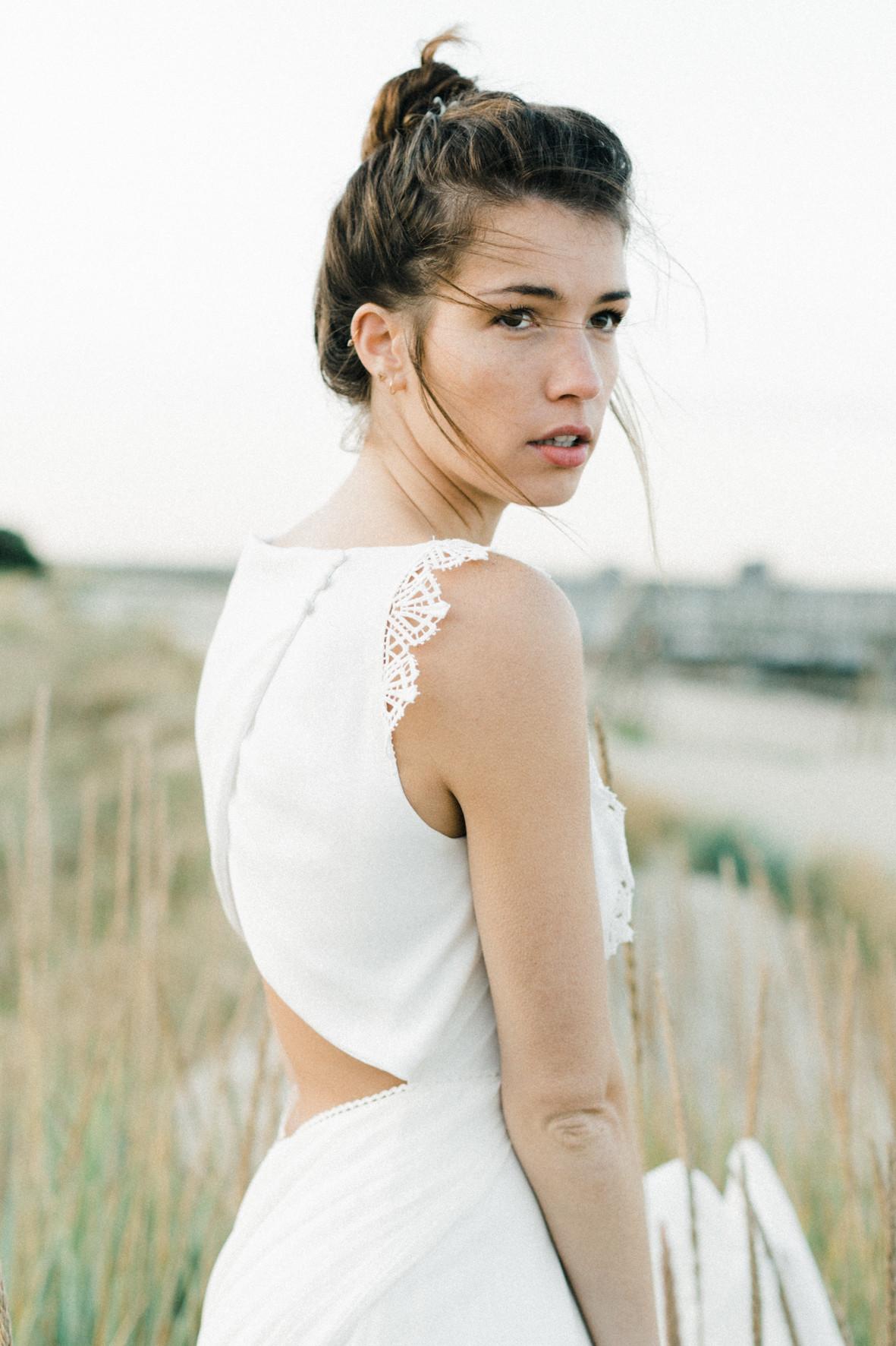 Ambre robe de mariée pleine de douceur