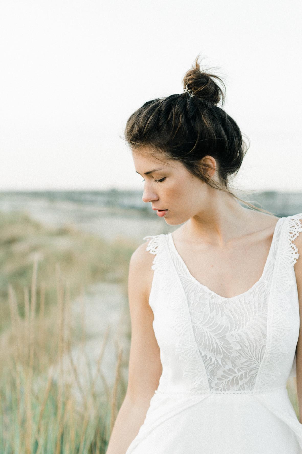Ambre robe de mariée raffiné