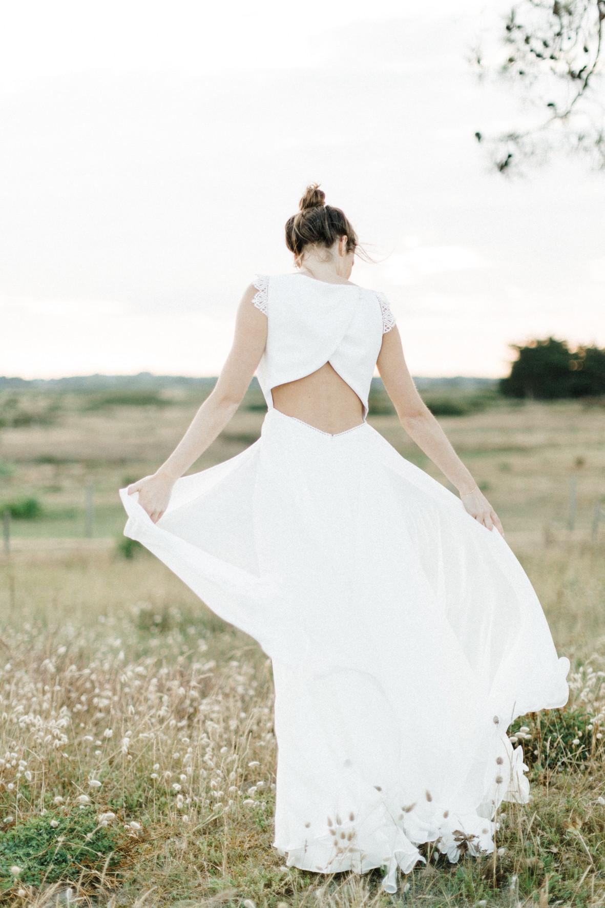 ambre robe de mariée 2019