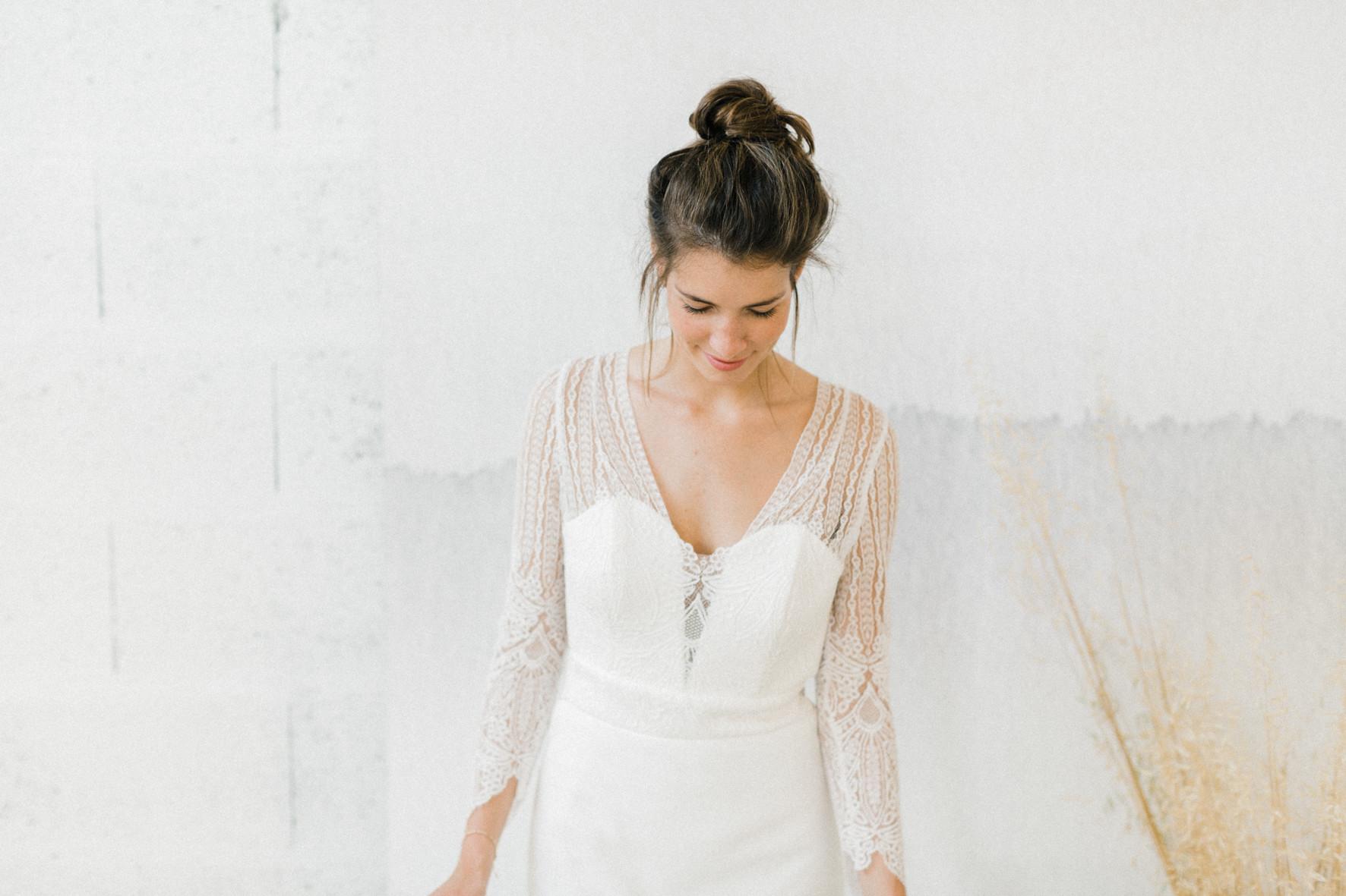 robe de mariée collection 2019 modele lola