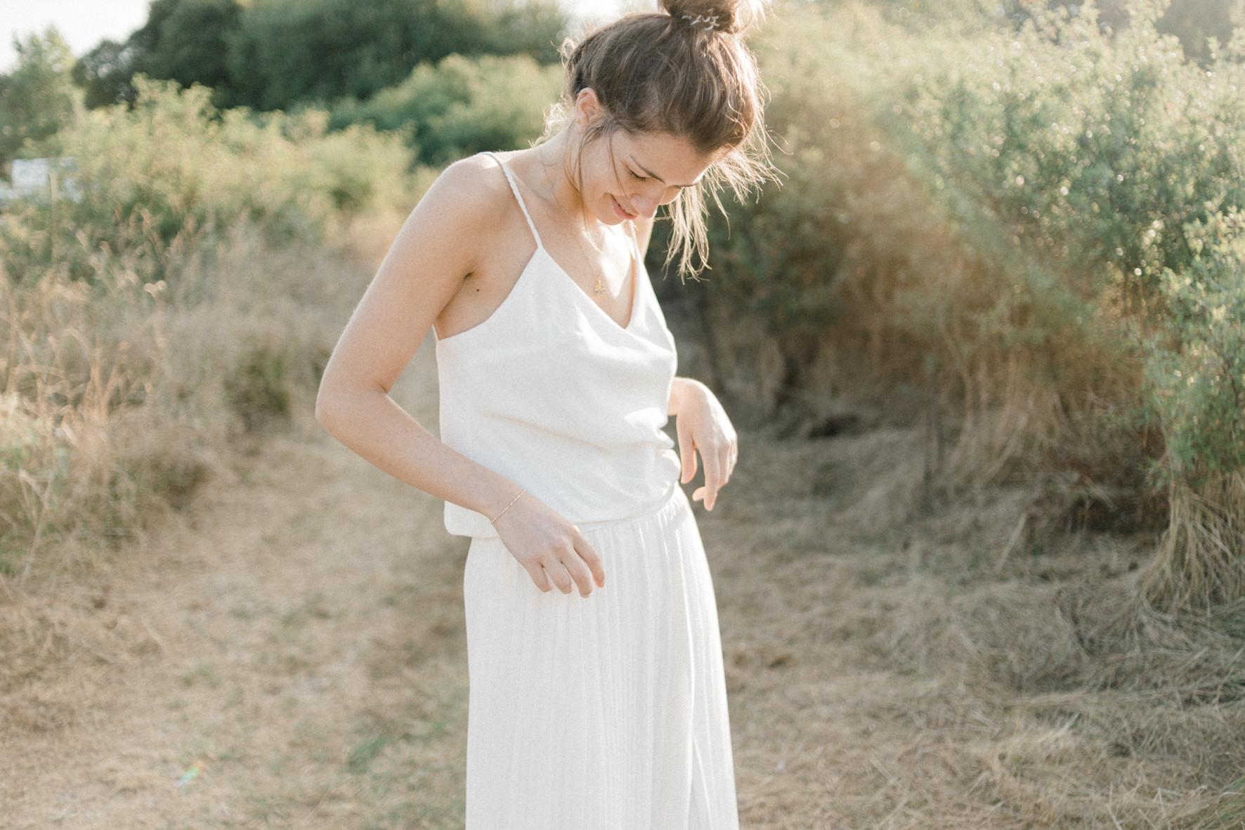 robe de mariée collection 2019 modèle Orlane