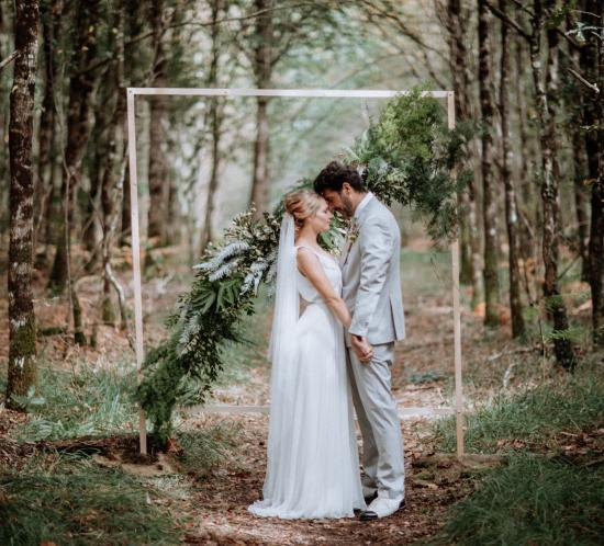 un mariage en forêt en loire atlantique