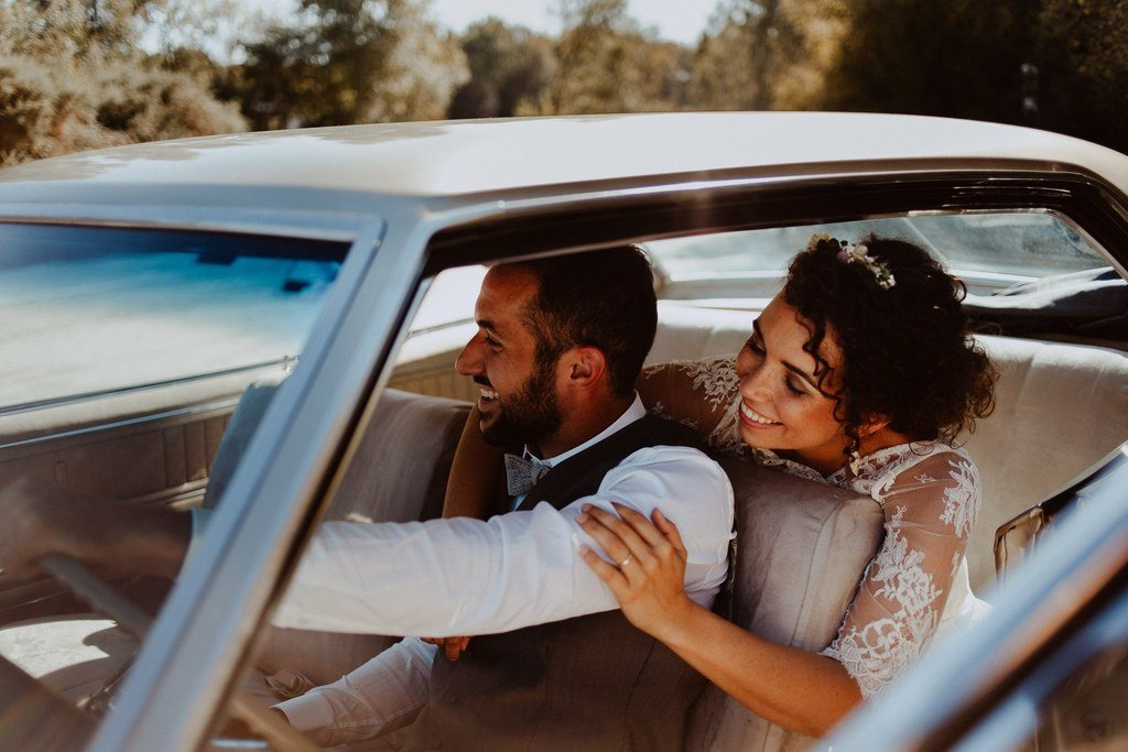 On pourrais pensez que ce mariage c'est déroulé dans le désert et pourtant nous ne sommes qu'a quelques minutes de Nantes