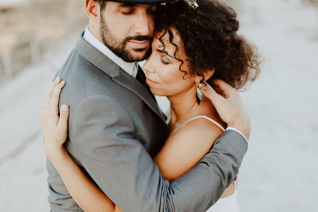 Les jeunes mariées ont choisi le ville de Blain pour leur mariage civil.
