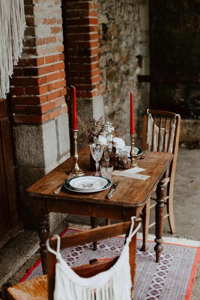 La décoration était relativement simple mais original, c'est ce qui à séduit les invités lors de ce mariage à Blain.