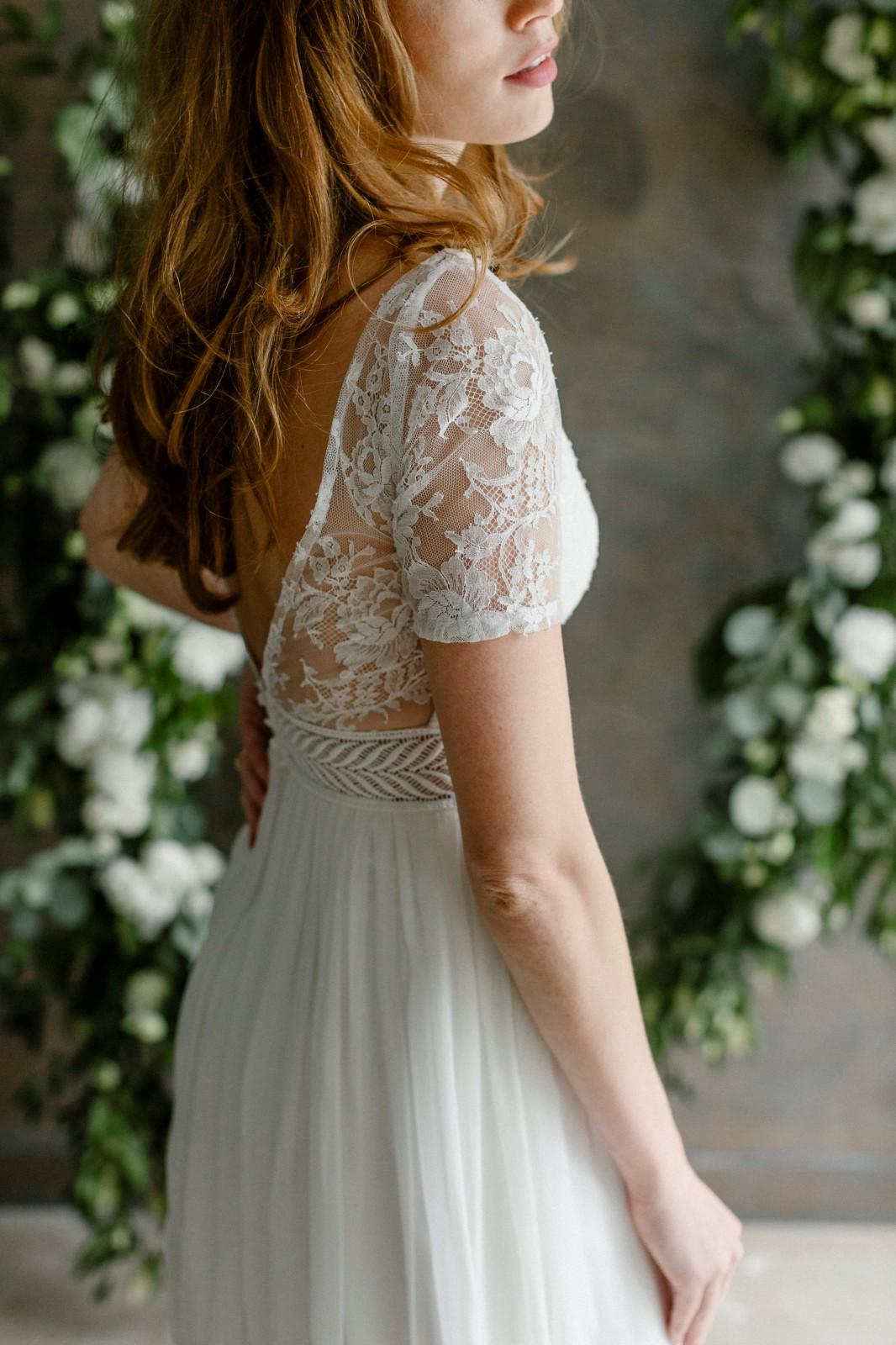 Une robe de mariée peut aussi être écoresponsable.