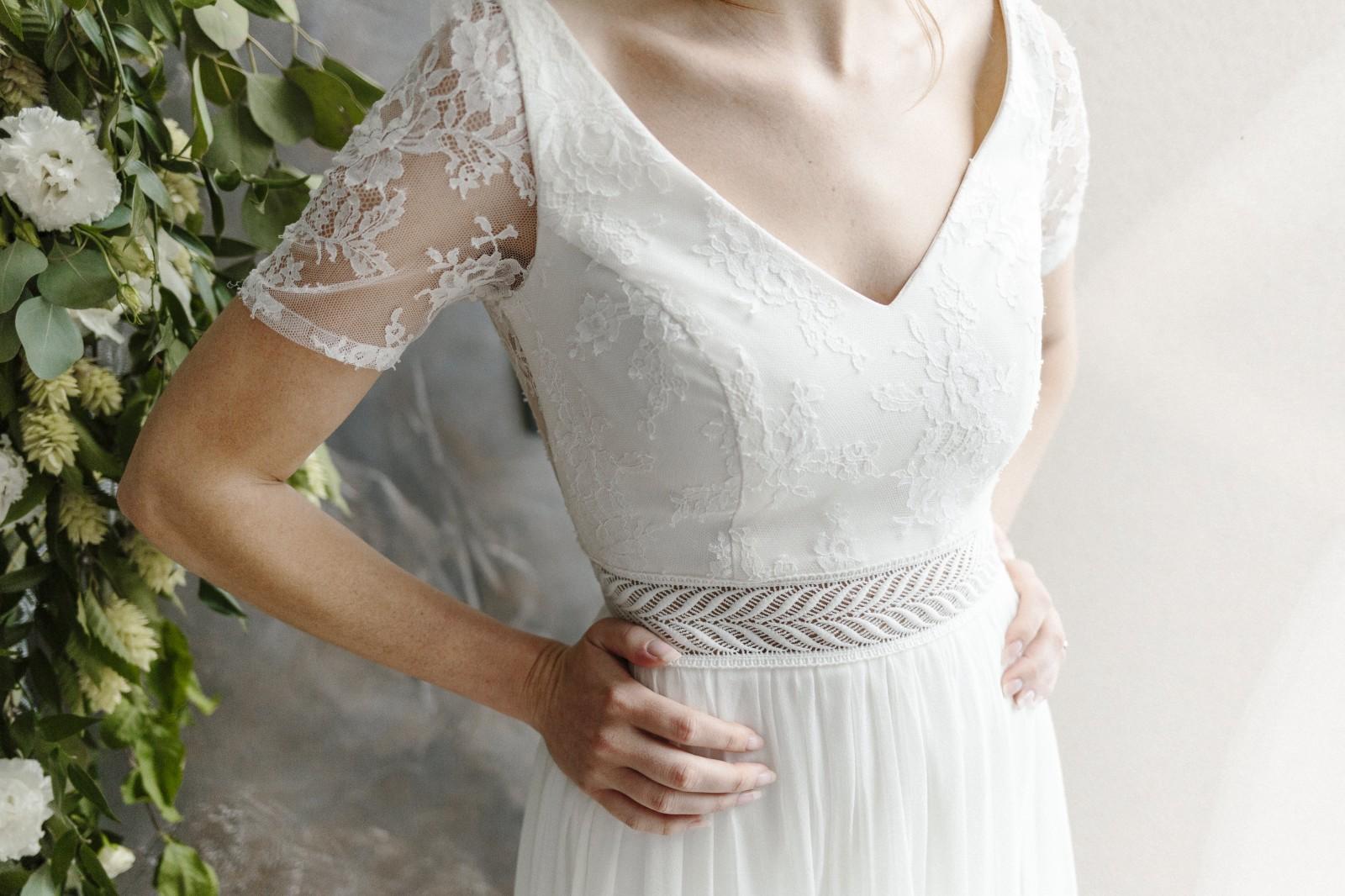 Une belle robe bohème pour votre mariage.