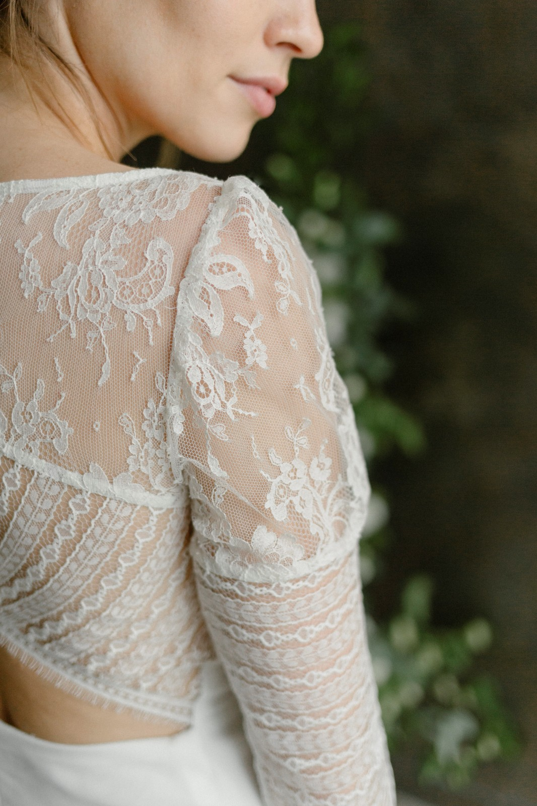 Voici une robe réalisée de façon ecoresponsable près de Nantes.