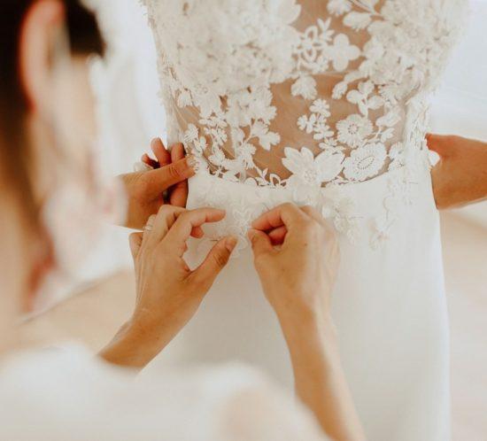 Robe de mariée sur mesure à Nantes