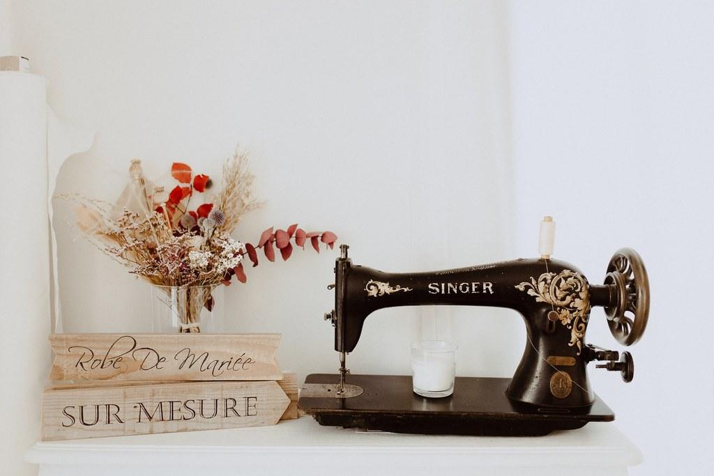 Le joli bouquet de fleur sécher réalisé par l'atelier aimer de Nantes.